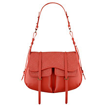 Buy Radley Kirkwood Large Leather Flap Shoulder Handbag Online at johnlewis.com