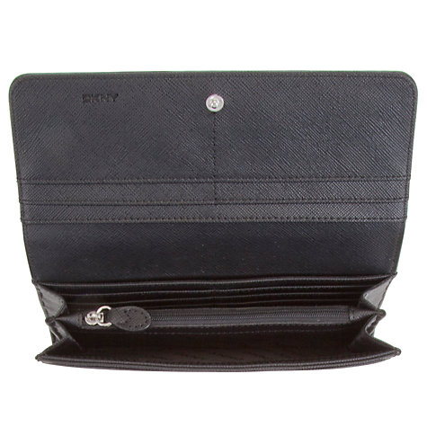 Buy DKNY Tribeca Leather Large Purse Online at johnlewis.com