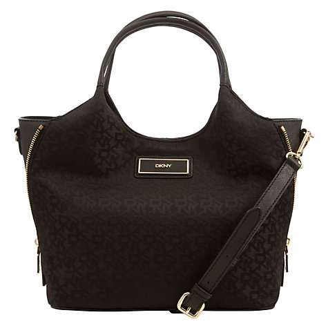 Buy DKNY Heritage Small Tote Bag, Black Online at johnlewis.com