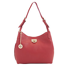 Buy DKNY Vintage Leather Hobo Bag Online at johnlewis.com