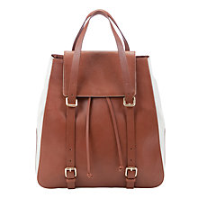 Buy Somerset by Alice Temperley Canvas & Leather Rucksack Online at johnlewis.com