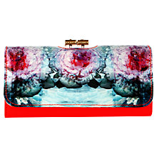 Buy Ted Baker Deniel Matinee Leather Purse, Powder Blue Online at johnlewis.com