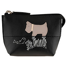 Buy Radley On Reflection Leather Coin Purse, Black Online at johnlewis.com