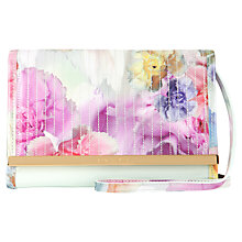 Buy Ted Baker Remah Mini Across Body Handbag, Green Online at johnlewis.com
