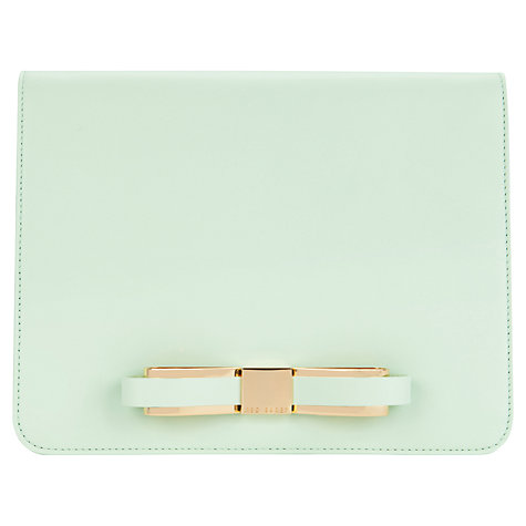 Buy Ted Baker Brochan Slim Bow Clutch Bag Online at johnlewis.com