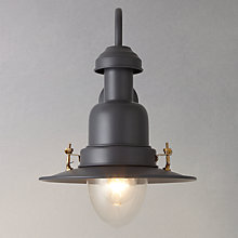 Buy Garden Trading Company Fishing Outdoor Wall Light, Steel Online at johnlewis.com