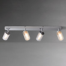 Buy John Lewis Mathieu 4 Bar Bathroom Spotlight Online at johnlewis.com