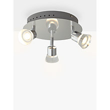 Buy John Lewis Lynx LED 3 Bathroom Spotlight Online at johnlewis.com