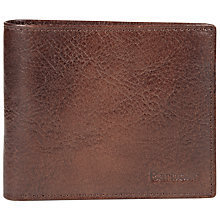 Buy Barbour Leather Wallet, Dark Tan Online at johnlewis.com