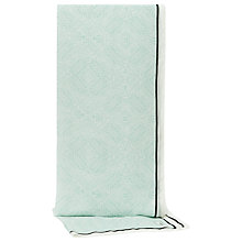 Buy Reiss Geometric Feather Print Camille Scarf, Mint Online at johnlewis.com