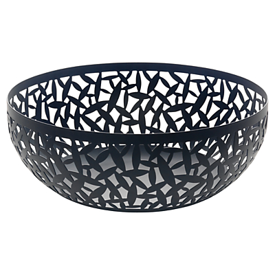 Image of Alessi 'Cactus!' Fruit Bowl, Black