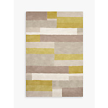 Buy John Lewis Grid Rug, Fennel Online at johnlewis.com