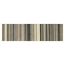 Buy John Lewis Multi Stripe Runner, Grey, L240 x W70cm Online at johnlewis.com