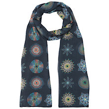 Buy NW3 by Hobbs Spiro Scarf, Navy Multi Online at johnlewis.com