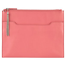 Buy Kaliko Clutch Handbag, Pink Online at johnlewis.com