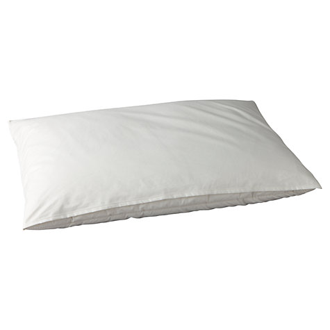 Buy Devon Duvets 4 Fold Wool Pillow, Firm Online at johnlewis.com