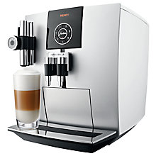 Buy Jura Impressa J9.2 Bean-to-Cup Coffee Machine, Platinum Online at johnlewis.com