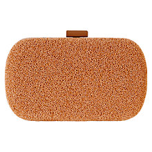 Buy Coast Caviar Clutch Handbag, Neutral Online at johnlewis.com