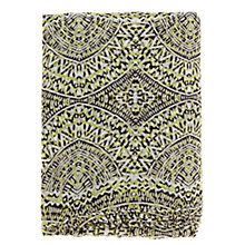 Buy Warehouse Dial Print Scarf, Lime Online at johnlewis.com