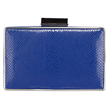 Buy Coast Renee Clutch Handbag, Cobalt Blue Online at johnlewis.com