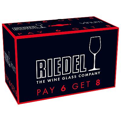 Riedel Vinum Chardonnay Glasses, Set of 8
