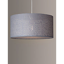 Buy John Lewis Easy-to-fit Alice Starry Sky Ceiling Shade, Slate Online at johnlewis.com