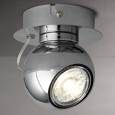 Buy John Lewis Maxim LED Single Spotlight, Chrome Online at johnlewis.com