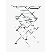 Buy John Lewis Deluxe 3 Tier Airer Online at johnlewis.com