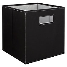 Buy House by John Lewis Folding Square Storage Box Online at johnlewis.com