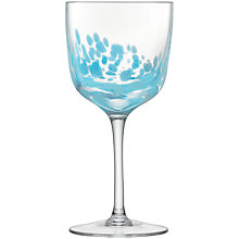 Buy LSA Chalk Wine Glasses, Blue, Set of 2 Online at johnlewis.com