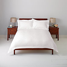 Buy John Lewis Elle Floral Jacquard Duvet Cover and Pillowcase Set Online at johnlewis.com