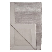 Buy John Lewis Genevieve Throw, L150 x W200cm, Grey Online at johnlewis.com