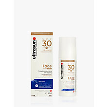 Buy Ultrasun SPF 30 Tinted Face Sun Cream, 50ml Online at johnlewis.com