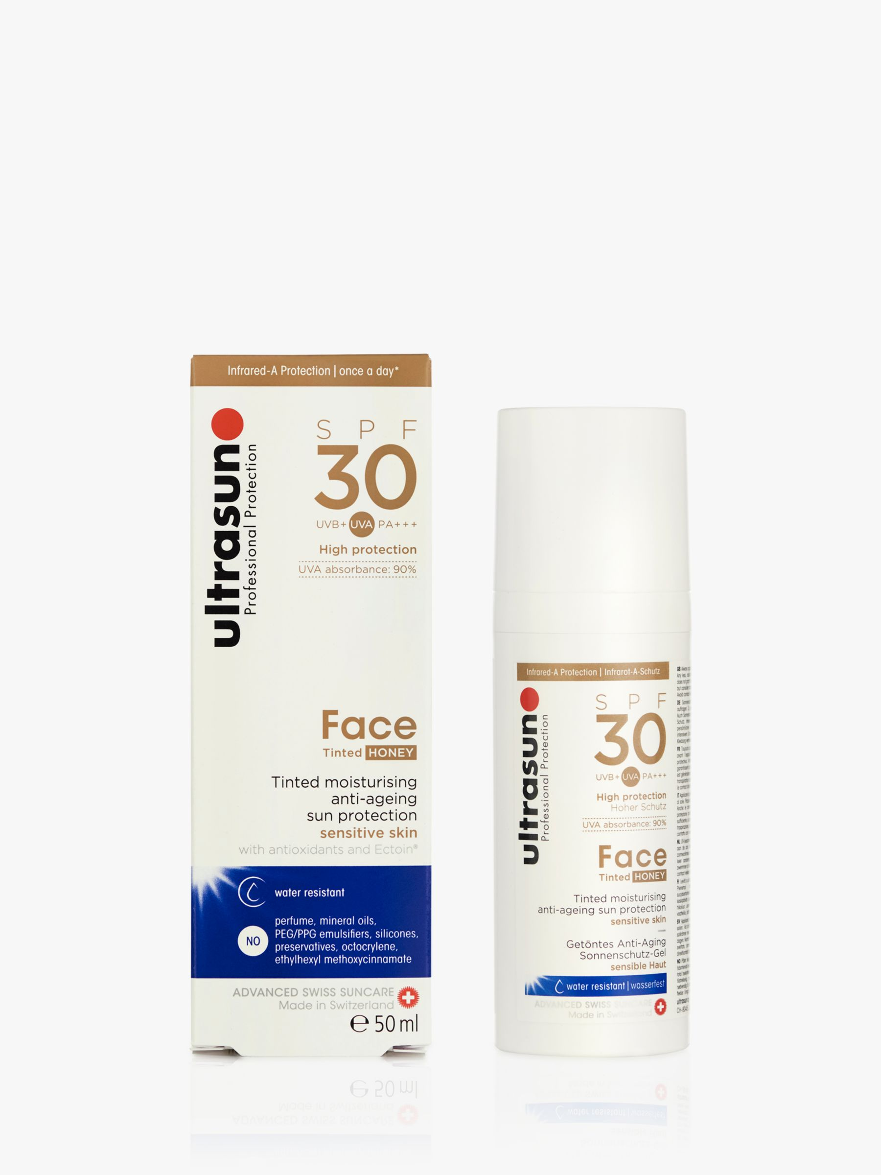 Ultrasun Ultrasun SPF 30 Tinted Face Sun Cream, 50ml