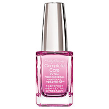 Buy Sally Hansen Complete Care Extra Moisturising 4-in-1 Nail Treatment, 14.7ml Online at johnlewis.com