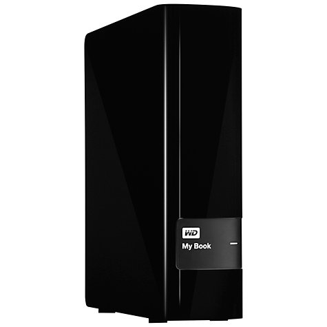 Buy WD My Book External Hard Drive, USB 3.0, 2TB Online at johnlewis.com