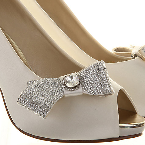 Buy Rainbow Club Hera Shoe Clips, Ivory Online at johnlewis.com