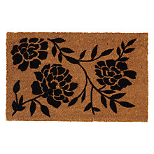 Buy John Lewis Arabella Floral Doormat, L75 x W50cm Online at johnlewis.com