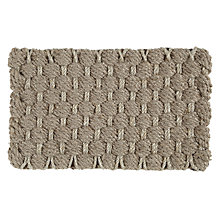 Buy John Lewis Croft Collection Basket Weave Doormat Online at johnlewis.com