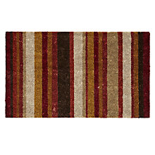 Buy John Lewis Multi Stripe Doormat, L75 x W45cm Online at johnlewis.com