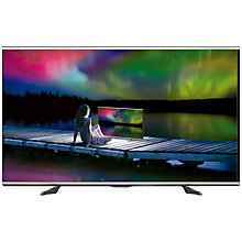 "Buy Sharp LC60UQ10 LED 4K Ultra HD 3D Smart TV, 60"" with Freeview HD & 2x 3D Glasses Online at johnlewis.com"