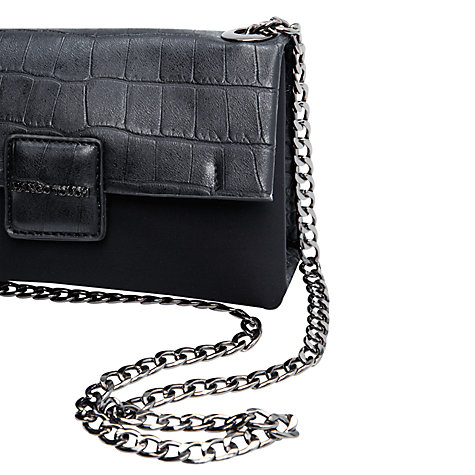 Buy Mango Small Neoprene Bag, Black Online at johnlewis.com