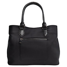 Buy Mango Zip Neoprene Bag, Black Online at johnlewis.com