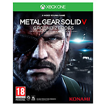 Buy Metal Gear Solid V: Ground Zeroes, Xbox One Online at johnlewis.com