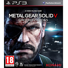 Buy Metal Gear Solid V: Ground Zeroes, PS3 Online at johnlewis.com