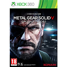 Buy Metal Gear Solid V: Ground Zeroes, Xbox 360 Online at johnlewis.com