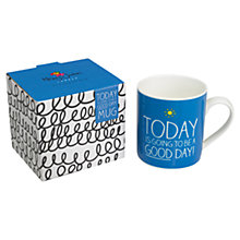 Buy Wild & Wolf Happy Jackson Good Day Mug Online at johnlewis.com