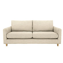 Buy John Lewis Bailey Fixed Cover Grand Sofa, Milton Putty Online at johnlewis.com