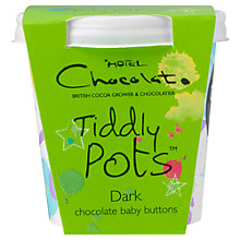 Buy Hotel Chocolat Dark Chocolate Tiddly Pot, 58g Online at johnlewis.com