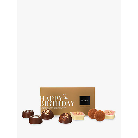 Buy Hotel Chocolat Happy Birthday Chocolate Pocket Selection, 95g Online at johnlewis.com